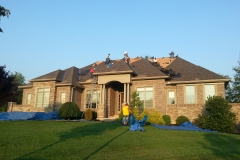 Before American WeatherTECHS Roofing