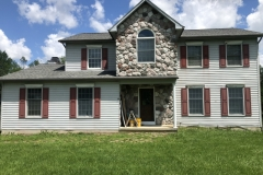 Before Siding Front